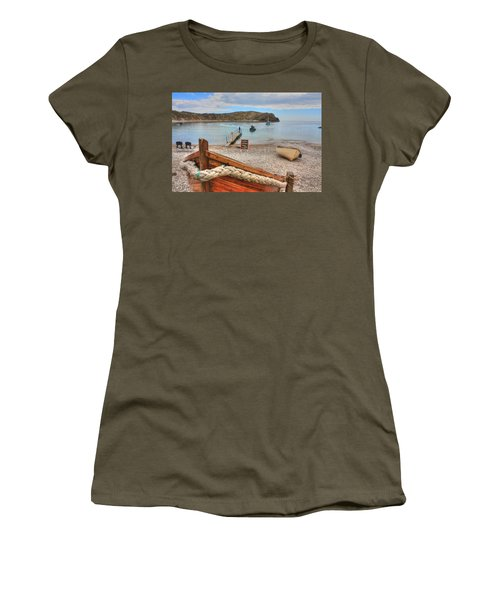 Lulworth Cove Women's T-Shirt (Athletic Fit)