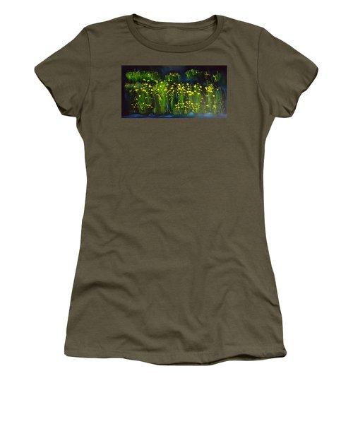 Lumonious Buds     17 Women's T-Shirt
