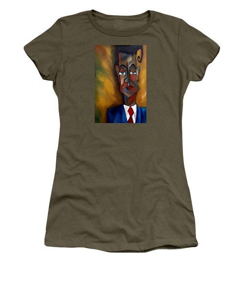 Lunatic Mentor Women's T-Shirt (Athletic Fit)