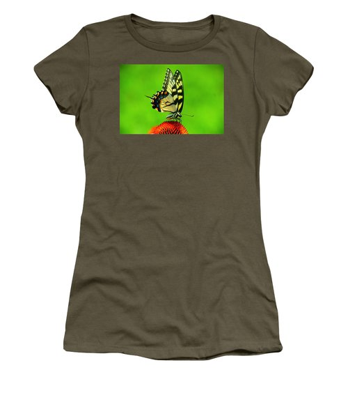 Women's T-Shirt (Junior Cut) featuring the photograph Lunchtime by Byron Varvarigos