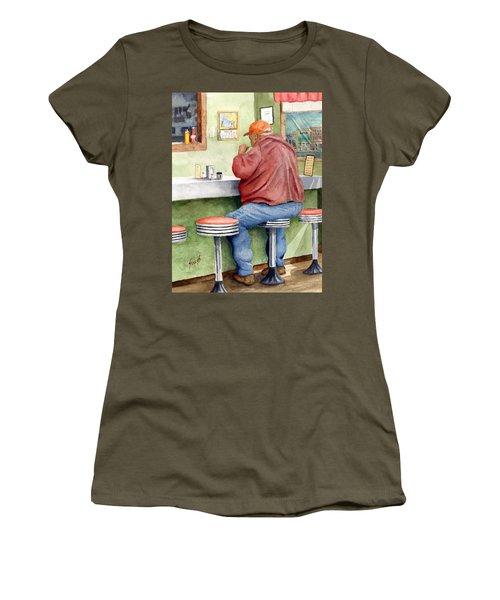 Lunchtime Women's T-Shirt (Junior Cut) by Sam Sidders