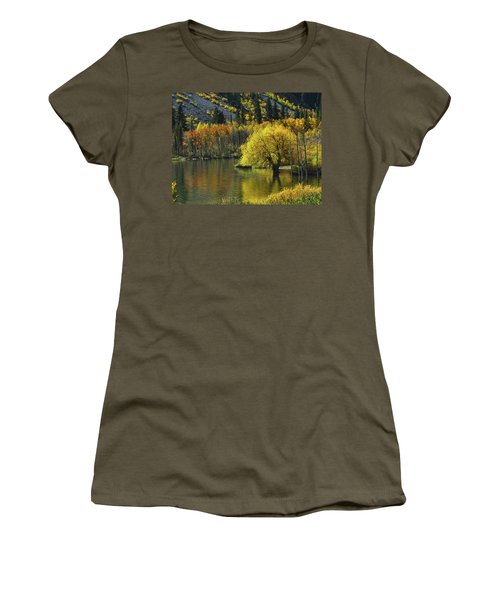 Lundy Lake Beauty Women's T-Shirt