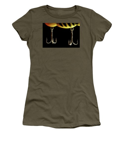 Women's T-Shirt (Junior Cut) featuring the photograph Lure by Mike Eingle