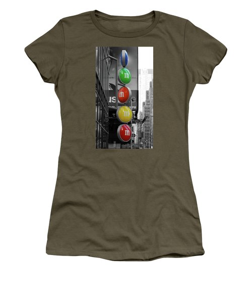 M And Ms In New York City Women's T-Shirt