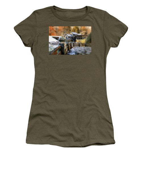 Mabry Mill Dream Women's T-Shirt (Athletic Fit)