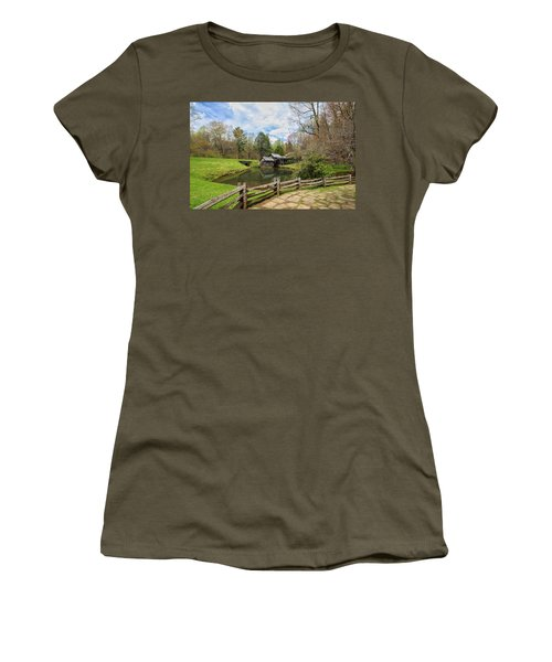 Mabry Mill In The Spring Women's T-Shirt