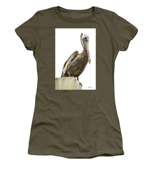 Majestic Gulf Shores Pelican 1071a Women's T-Shirt