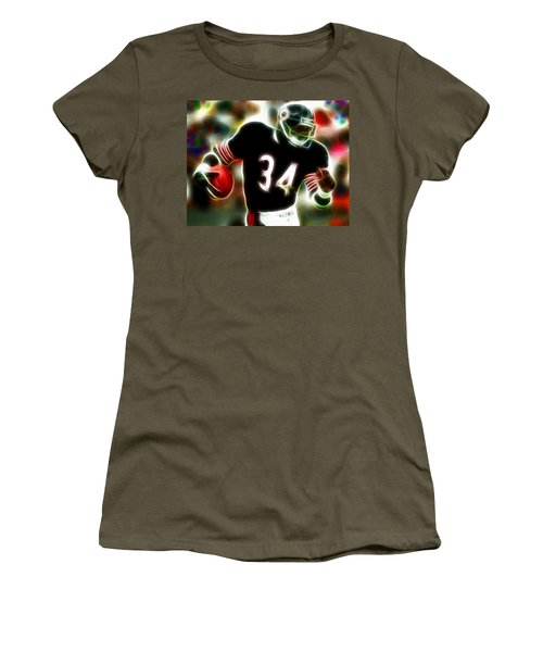 Magical Walter Payton Women's T-Shirt (Athletic Fit)