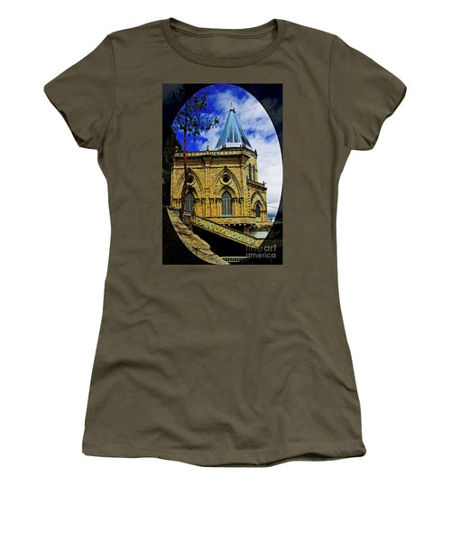 Women's T-Shirt (Junior Cut) featuring the photograph Magnificent Church Of Biblian by Al Bourassa