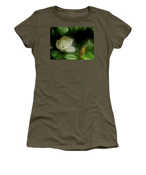 Magnolia Women's T-Shirt (Junior Cut) by Evelyn Tambour
