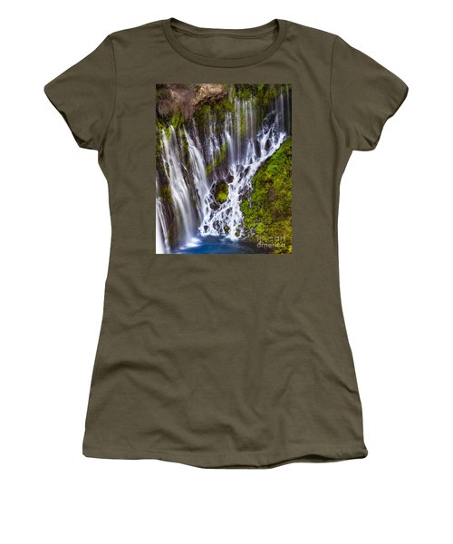 Majestic Falls Women's T-Shirt (Athletic Fit)