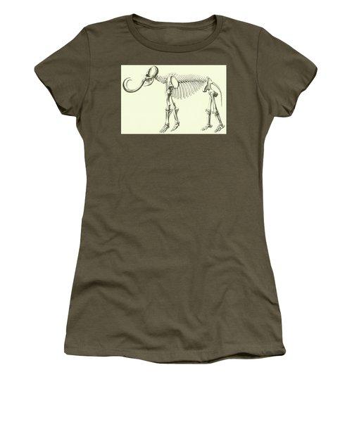 Mammoth, Elephas Intermedius Women's T-Shirt