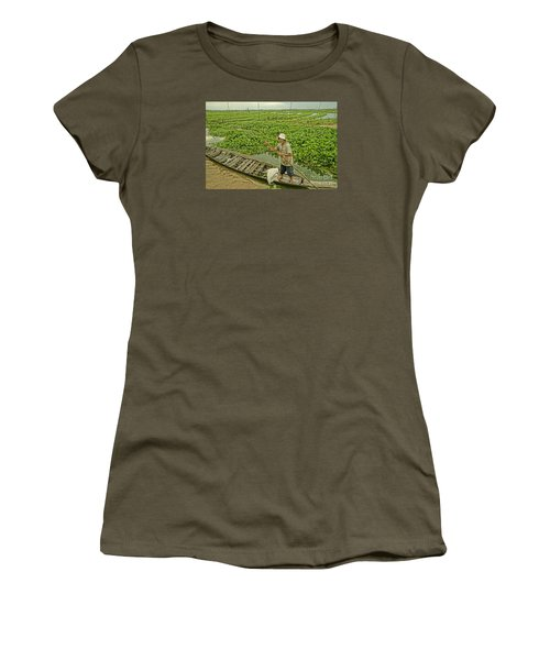 Man Of Daily Life Women's T-Shirt (Junior Cut) by Arik S Mintorogo