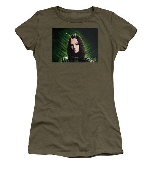 Mantis Women's T-Shirt (Junior Cut) by Tom Carlton