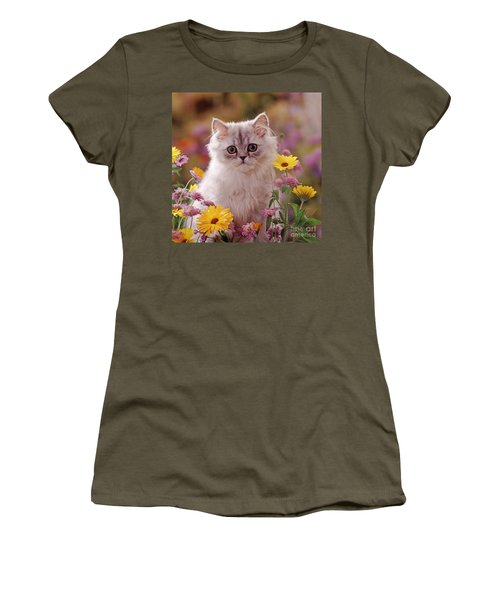 Marigold Chinchilla Women's T-Shirt (Athletic Fit)