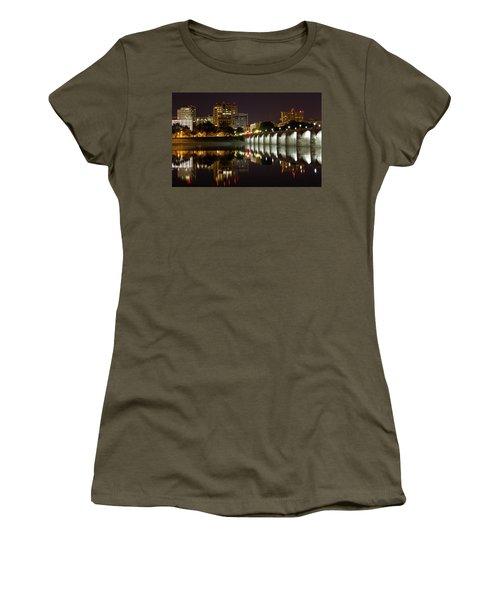 Market Street Bridge Reflections Women's T-Shirt