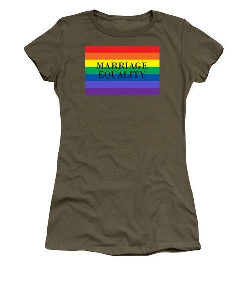 Marriage Equality Women's T-Shirt