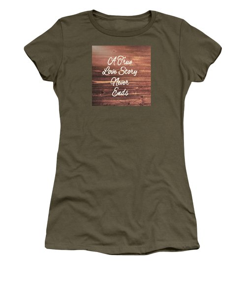 Marriage Motto Women's T-Shirt (Junior Cut) by JAMART Photography