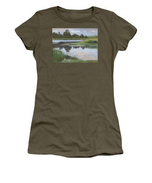 Marsh, June Afternoon Women's T-Shirt (Athletic Fit)