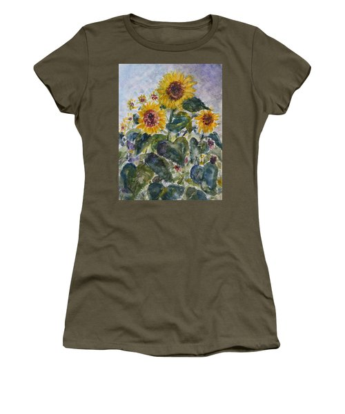Martha's Sunflowers Women's T-Shirt