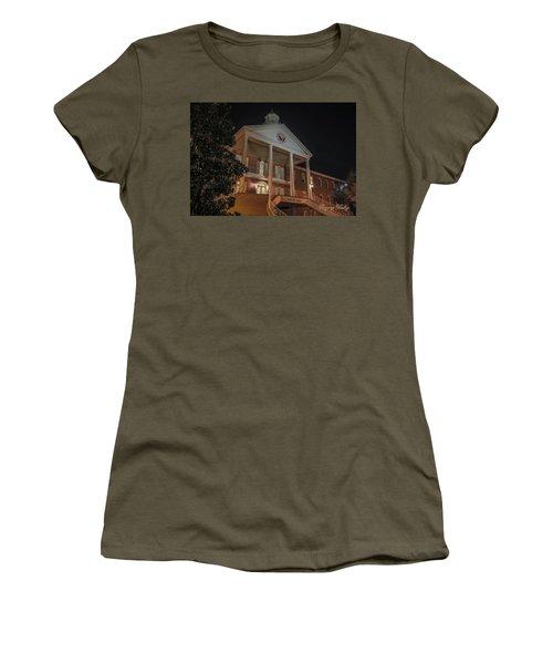 Martin Hall Night 01 Women's T-Shirt