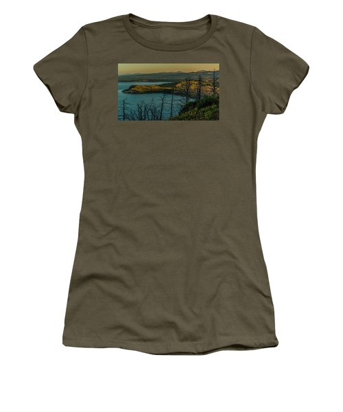 Mary Bay At Dawn Women's T-Shirt (Junior Cut) by Yeates Photography