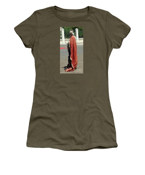 Masquerader Of Sao Tome Women's T-Shirt (Junior Cut) by John Potts