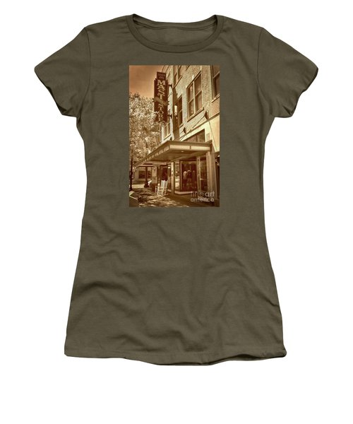 Women's T-Shirt (Junior Cut) featuring the photograph Mast General Store by Skip Willits