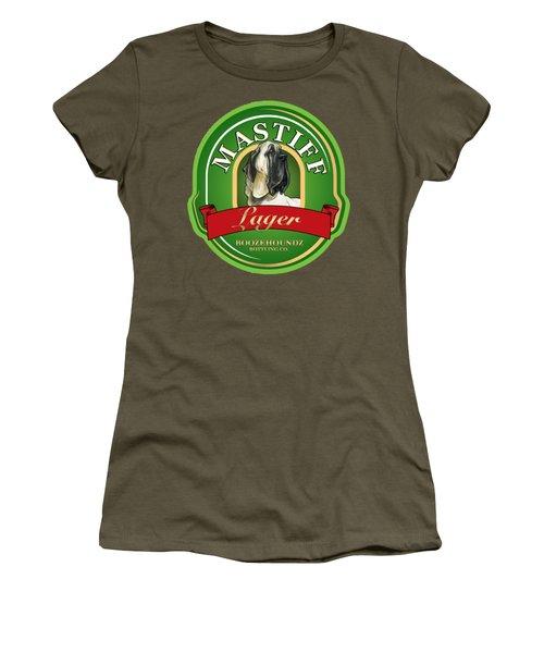 Mastiff Lager Women's T-Shirt (Athletic Fit)