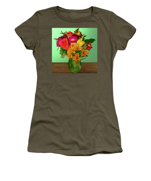 May Flowers Women's T-Shirt (Junior Cut)