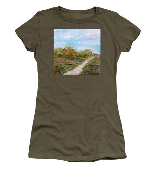 May The Road Rise Up To Meet You Women's T-Shirt (Athletic Fit)