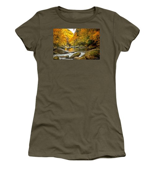 Mcconnell's Mill State Park Women's T-Shirt (Athletic Fit)