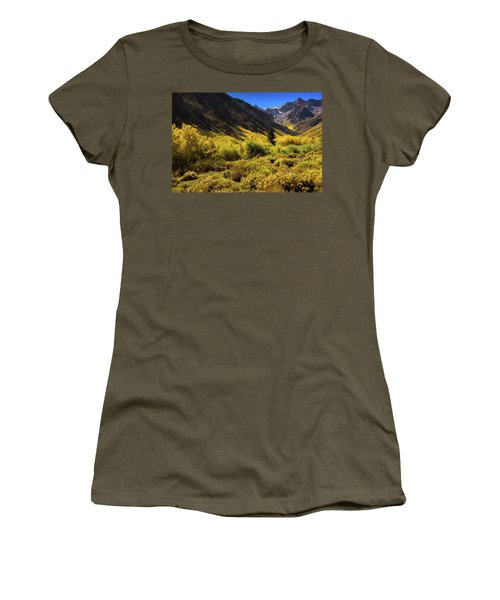 Mcgee Creek Alive With Color Women's T-Shirt