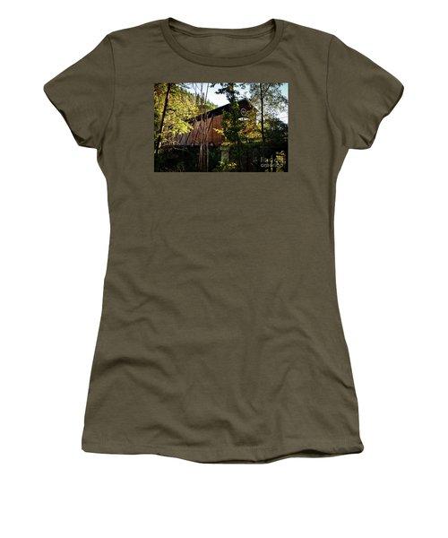 Mckee Bridge Women's T-Shirt (Athletic Fit)
