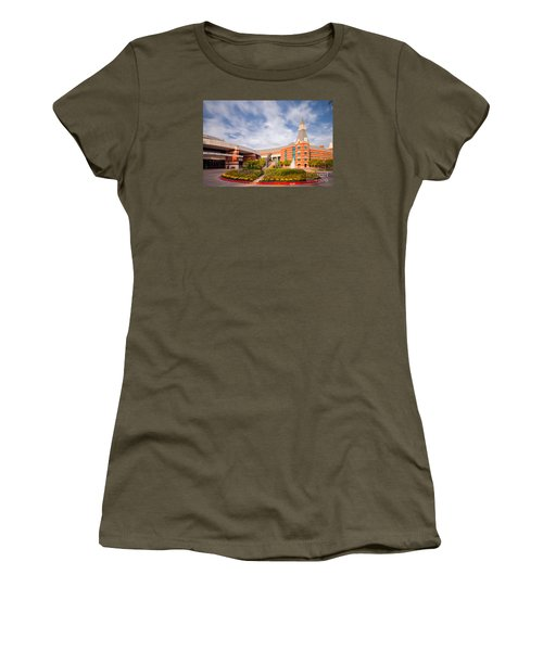 Mclane Student Life Center And Sciences Building - Baylor University - Waco Texas Women's T-Shirt (Athletic Fit)