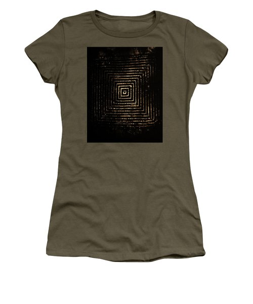Women's T-Shirt (Junior Cut) featuring the photograph Mcsquared by Cynthia Powell