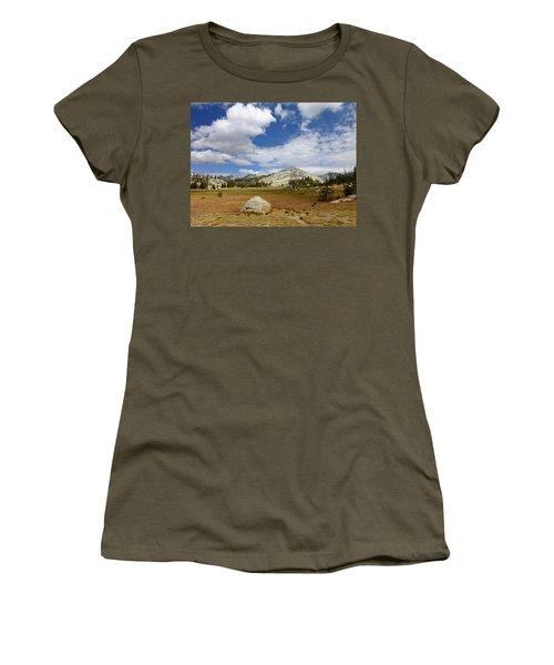 John Muir Trail High Sierra Camp Meadow Women's T-Shirt (Athletic Fit)