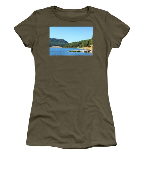 Meadowlark Lake View Women's T-Shirt (Junior Cut) by Jess Kraft