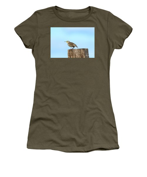 Meadowlark Roost Women's T-Shirt (Athletic Fit)