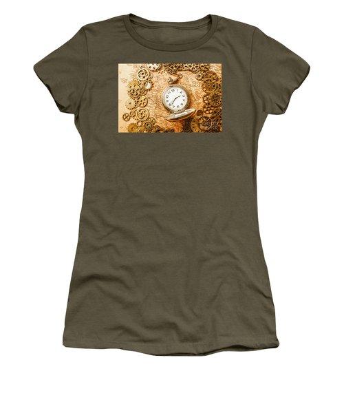Mechanisms In Industrial Time Women's T-Shirt