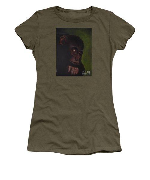 Meditation Women's T-Shirt (Junior Cut) by Annemeet Hasidi- van der Leij