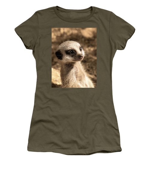Meerkatportrait Women's T-Shirt