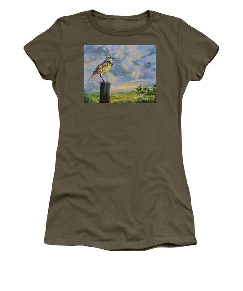 Melancholy Song Women's T-Shirt (Athletic Fit)