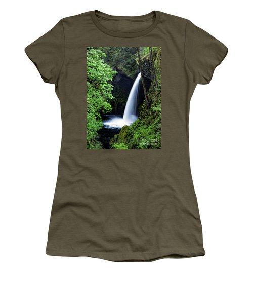 Metlako Falls Waterfall Art By Kaylyn Franks Women's T-Shirt