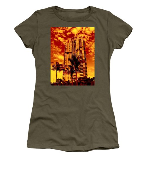Miami South Pointe IIi Highrise Women's T-Shirt