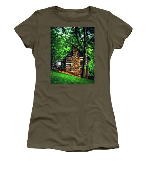 Women's T-Shirt (Junior Cut) featuring the photograph Michie Tavern No. 2 by Laura DAddona