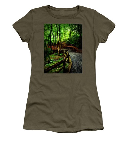 Women's T-Shirt (Junior Cut) featuring the photograph Michie Tavern No. 3 by Laura DAddona