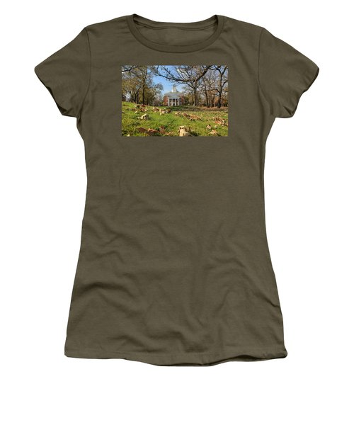 Middle College On An Autumn Day Women's T-Shirt