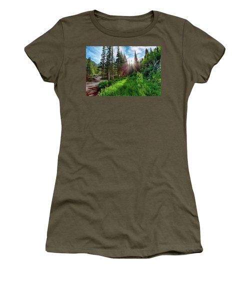 Women's T-Shirt (Junior Cut) featuring the photograph Midsummer Dream by David Chandler