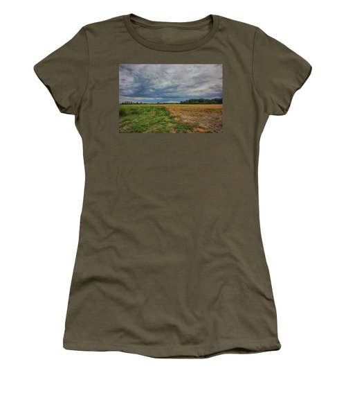 Midwest Weather Women's T-Shirt (Athletic Fit)